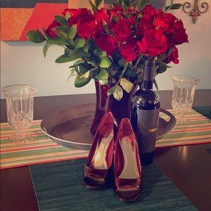 BCBG RED stilettos 👠